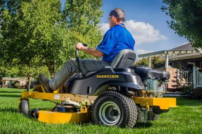 Take the Hassle Out of Mowing with Hustler